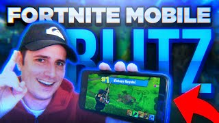 Fortnite Mobile - BLITZ MODE DOMINATION - Blitz Solo Win | Victory Royale iOS / Android