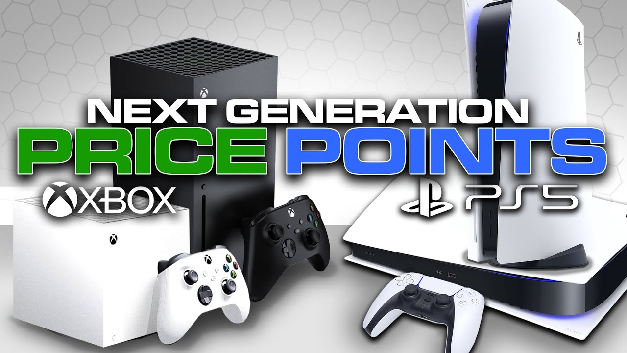 PS5 & Xbox Series X Price Points Detailed by Insiders | Console Price Point Next Generation