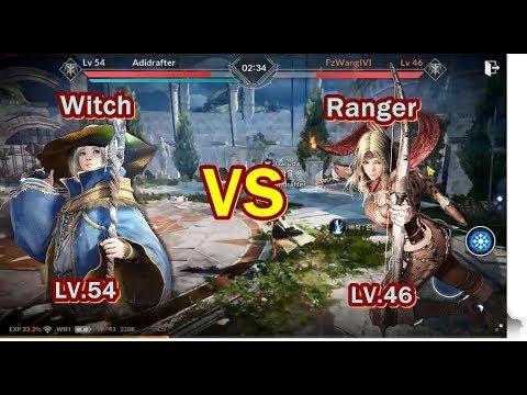 Seru Banget,Witch VS Ranger Black Desert Mobile Indonesia