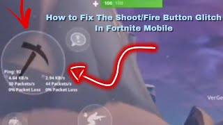 Wie feuer/Build Button Glitch in Fortnite Mobile Saison 8 zu beheben