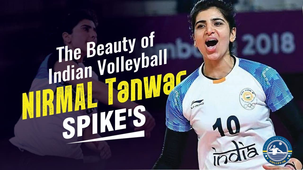 Download Nirmal Tanwar volleyball , Best Women Volleyball player in india , volley in
