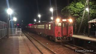 JR西日本城端線キハ40-2078キハ47-25キハ47-140