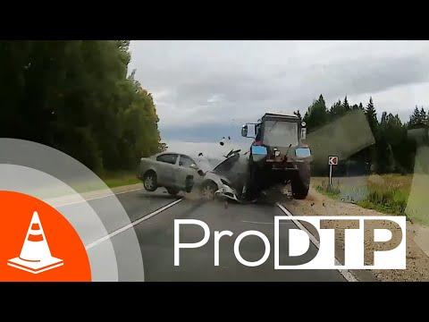 ПроДТП - подборка аварий за Август 2019 (pilot Release)