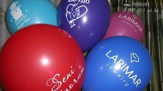 видео Где заказать печать на шарах