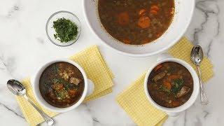 Beef Barley Soup- Martha Stewart