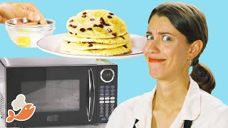 Can This Chef Make A 3-Course Meal With A Microwave Again? • Tasty