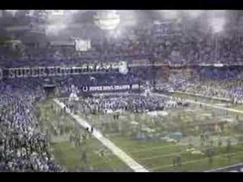 Indianapolis Colts Super Bowl XLI Celebration