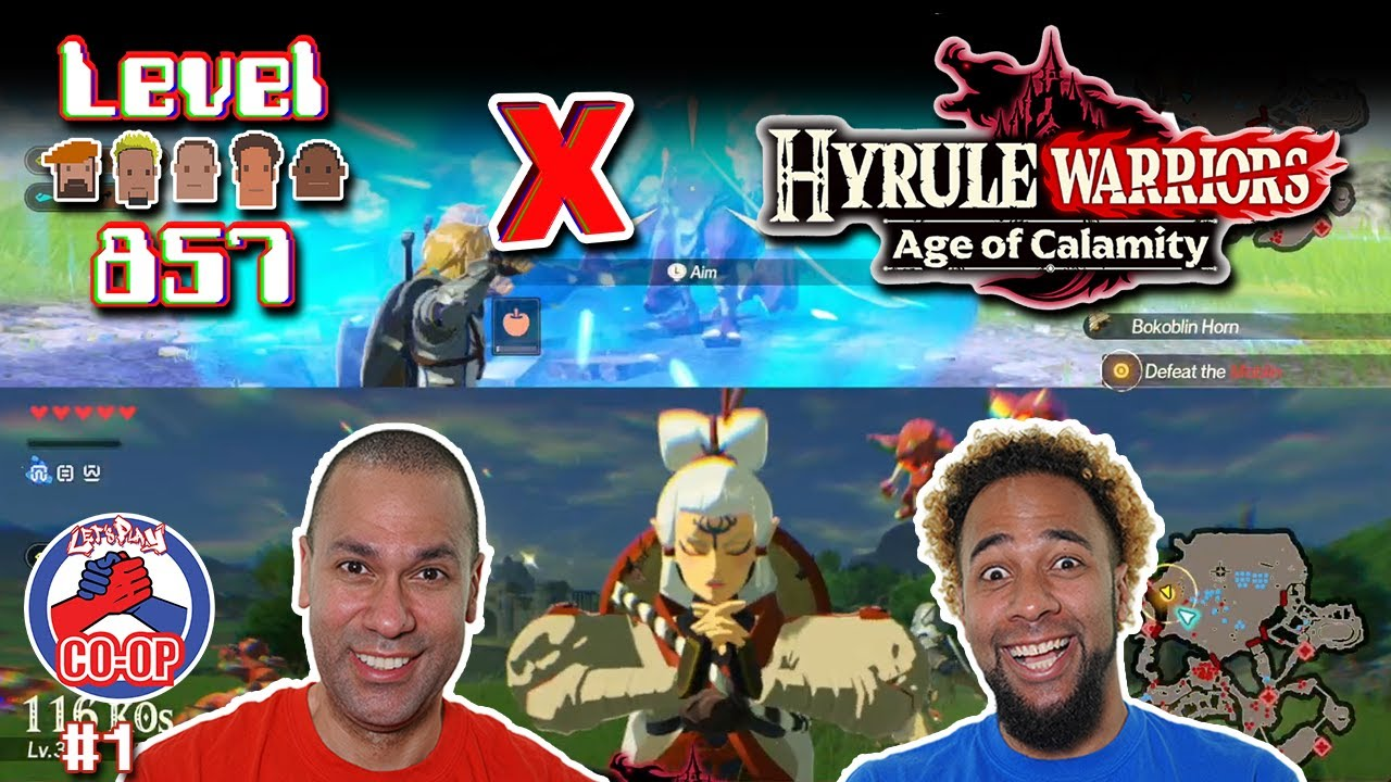 Hyrule Warriors Age Of Calamity 2 Players Full Complete Demo Playthrough Walkthrough Part 1 857 Entertainment