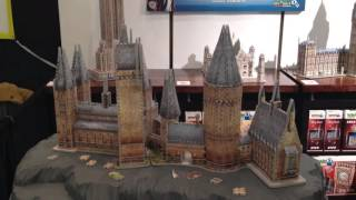 Harry Potter Hogwarts Great Hall & Astronomy Tower 3D Puzzles