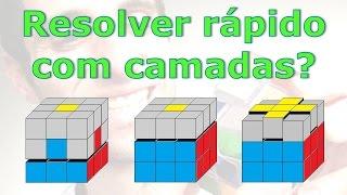 Resolvendo o Cubo Mágico com método de camadas em 30 segundos