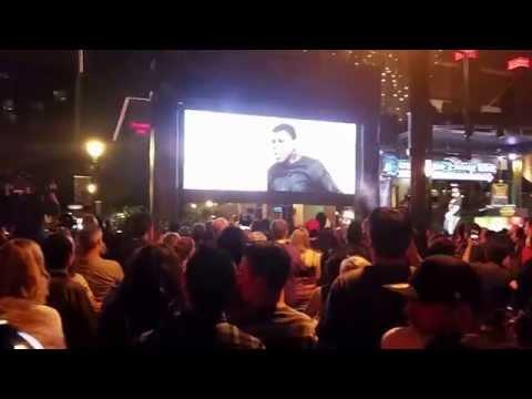 Star Wars: The Force Awakens Trailer Premiere - Downtown Disney