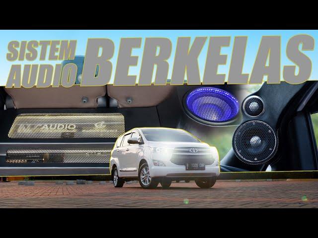 Audible Physics : Modif Toyota Innova Reborn Dengan Sistem Audio yang Berkelas