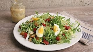 Frisee Salad with Potatoes and Hot Salami | Episode 1090
