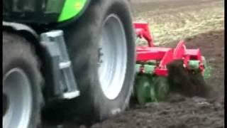 AGRO-MASZ pokazy na Opolagra - agregat talerzowy uprawowo siewny AT30
