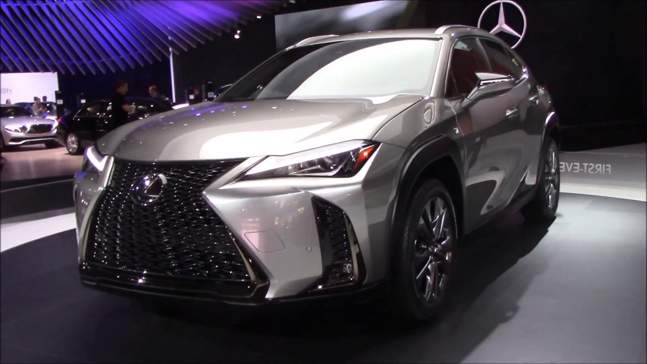 2019 LEXUS UX | NEW YORK INTERNATIONAL AUTO SHOW - YouTube