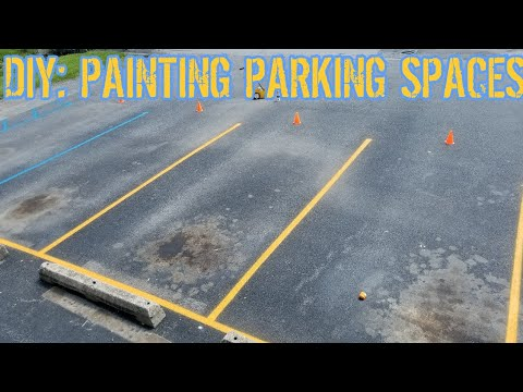 DIY: Paint Your Own Parking Spaces