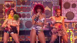 [HD] Whats my name - Rihanna Live X Factor UK