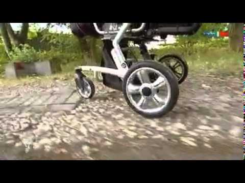 Kids2sit Der Innovative Geschwister Sitz One Pram Two Children One Hidden Sit Youtube