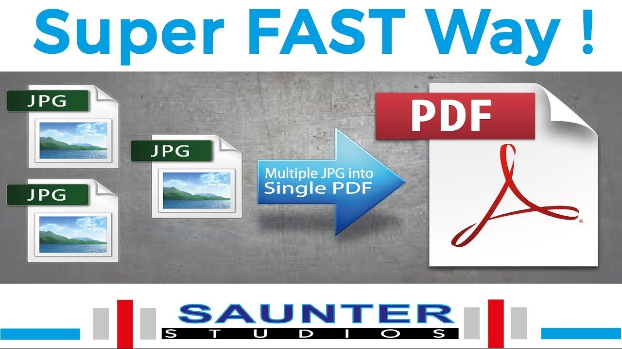 Combine Multiple Jpg To Pdf