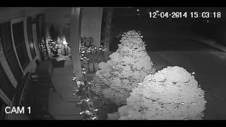 Arsonist Sets Fire-When CCTV Forensic Video Enhancement is not Possible