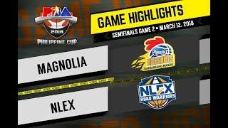 PBA Philippine Cup 2018 Highlights: NLEX vs Magnolia Mar. 12, 2018