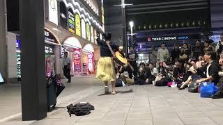荻窪選手権(アカペラ) / 眉村ちあき 20181011 新宿路上