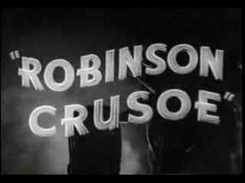 Robinson Crusoe of Clipper Island - serial trailer