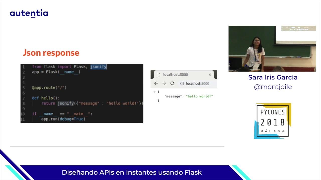 Image from Diseñando APIs en instantes usando Flask
