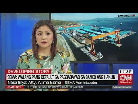 CNN Philippines Interview with SBMA Chief regarding Hanjin