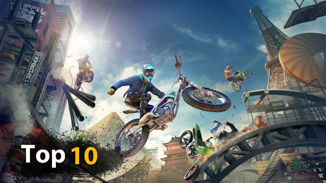 Top 10 Bike Racing Games For Android Bike Racing Games