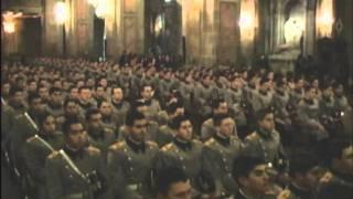 Juramento a la Bandera en la Escuela Militar