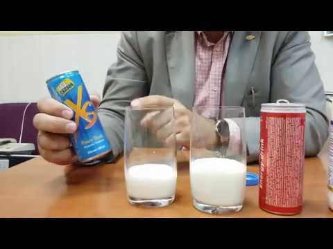Опыт с XS на молоке против V Power