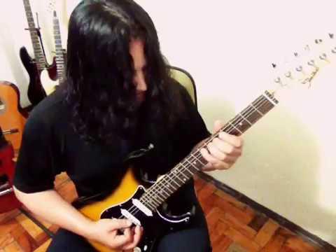 She's a maniac (Flashdance) Guitar solo #CrisOliveira