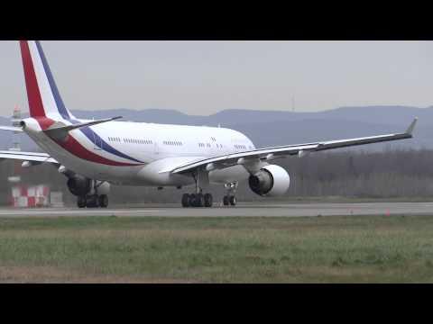 French Republic A330-223(F-RARF) and A310-304(F-RADA)