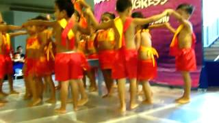 Waka Waka kids dancing