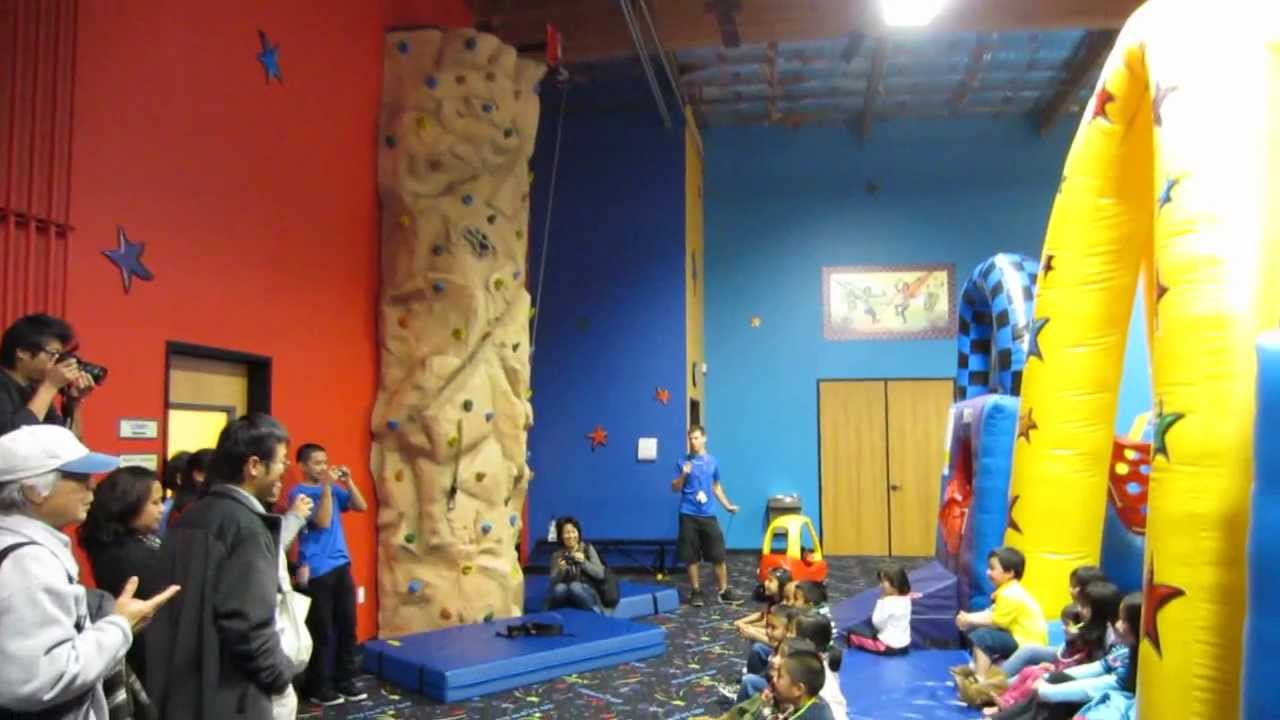 Quick Walkthrough Pump It Up Milpitas Glow Party Youtube