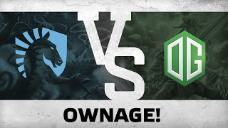 Ownage! by Team Liquid vs OG @The Defense #5 - Final