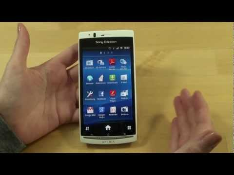 Sony-Ericsson Xperia Arc S Test Bedienung