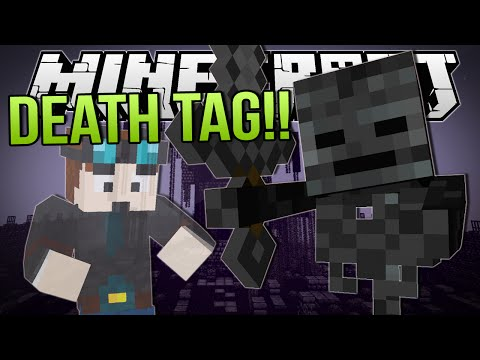 DEATH TAG!! | Minecraft: Minigame!