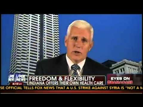 Gov. Mike Pence Discusses Obamacare on Fox & Friends