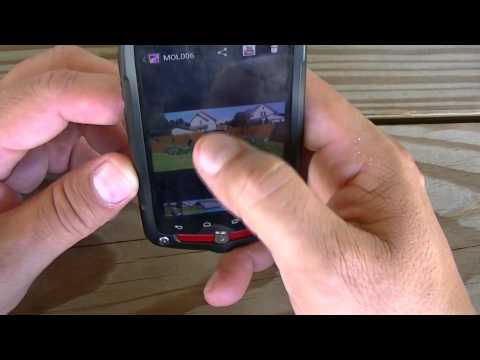 """Verizon"" - ""Casio"" - g Zone Comando Review under water"