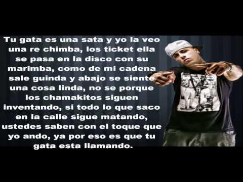 Tremenda Sata Remix (Letra) - Arcangel Ft. De La Ghetto, Plan B, Daddy Yankee Y Nicky Jam