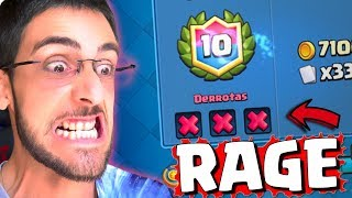RAGE DESAFIO DO CAPIROTO NO CLASH ROYALE