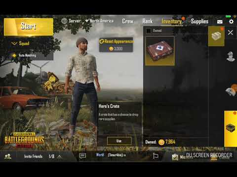 Opening A Hero Crate Pubg Mobile