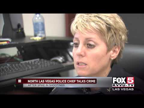 North Las Vegas police chief says more cops to hit the streets