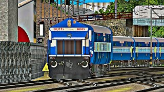 MSTS INDIAN RAILWAYS - 10103 MANDOVI EXPRESS