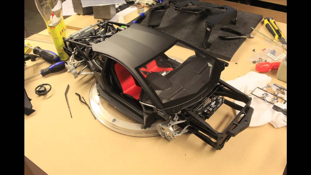 Pocher Lamborghini Aventador Time Lapse Assembly YouTube