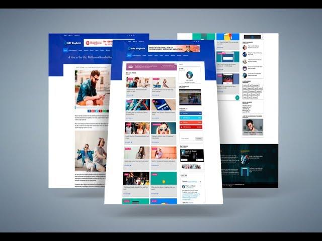 AMP Blog Build - Plantilla de Blogger gratis en Amp HTML 2019