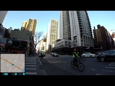 ⁴ᴷ Walking Tour of Manhattan, NYC - 57th Street from 5th Avenue to Sutton Place