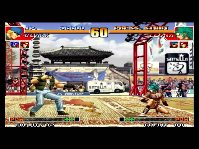 The King of Fighters 97 Clark Still